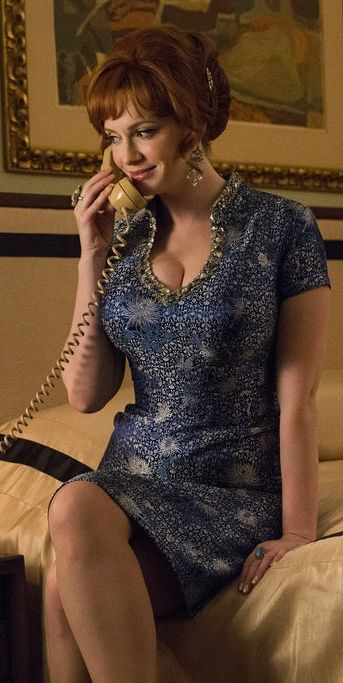 We swear Joan Harris has never looked as stylish as she did in this moment on Mad Men.