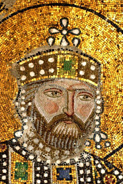 Byzantine stemma crown.