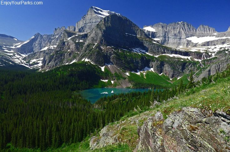 Grinnell Glacier Trail; Top Ten things to do in Glacier National Park