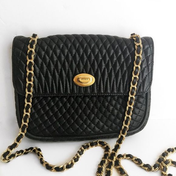 Shop Women S Bally Black Gold Size Os Crossbody Bags At A