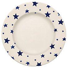 Buy Emma Bridgewater Starry Skies Dessert Plate, Dia.26.5cm Online at johnlewis.com