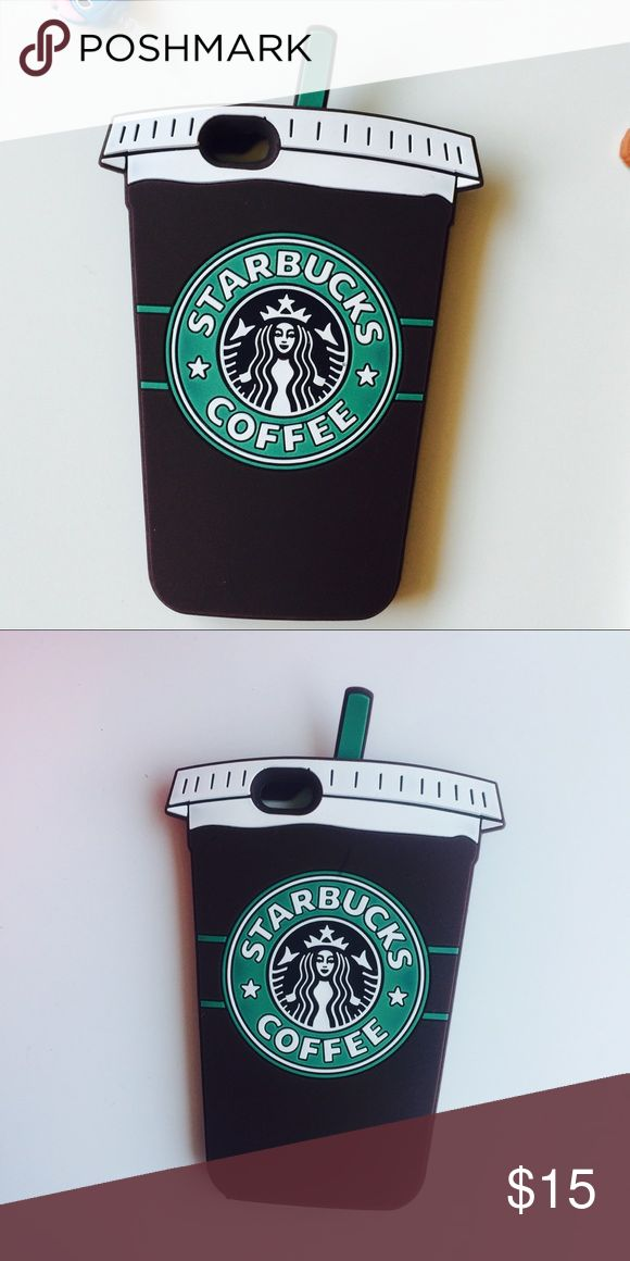 Iphone 6+ 6s+ Starbucks Coffee Cup Iphone case New with package Compatible with the iphone 6+ 6s+                            Ships within 24 hours from the MO - 3-7 days standard shipping #phonecase Accessories Phone Cases