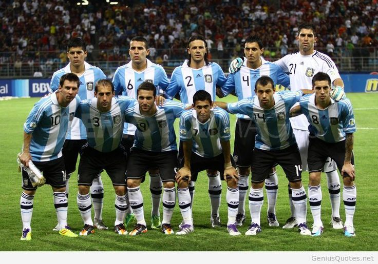 Argentina Team Fifa World cup 2014 wallpapers and photos