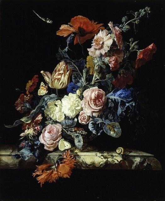 Paintings: Paintings Art, Graffiti Artworks, Dutch Artists, White Rose, Floral Paintings, Dark Circles, Willems Vans Aelst, Beautiful Art, Flower