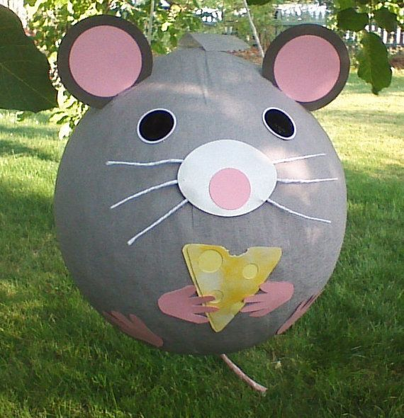 Mouse Pinata With Cheese by PinataPals on Etsy