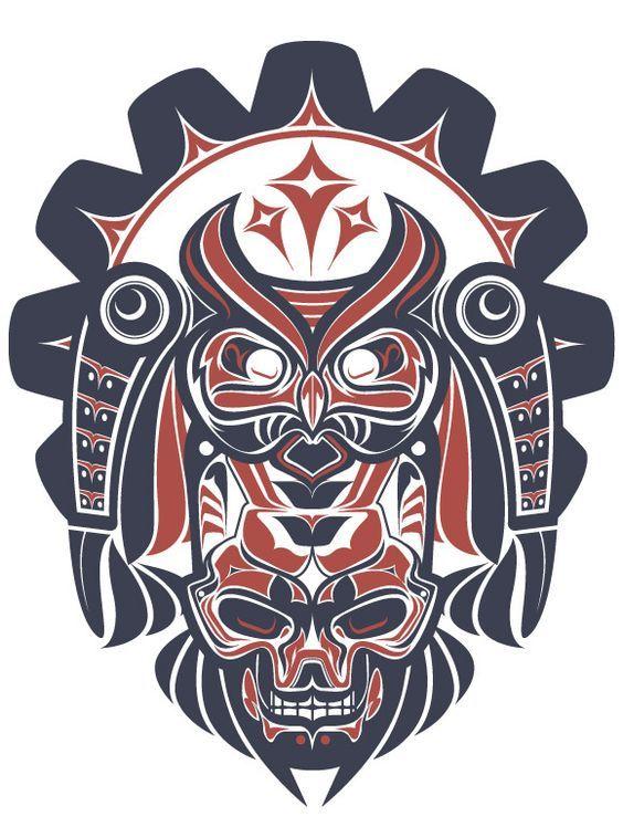 Tatuajes tribales haida explosivamente sensuales y exclusivos