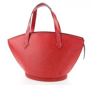 Louis Vuitton Saint Jacques Tote Bag In Red Epi Leather $365