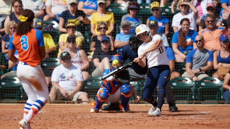Alex Sobczak Softball University of Michigan Athletics