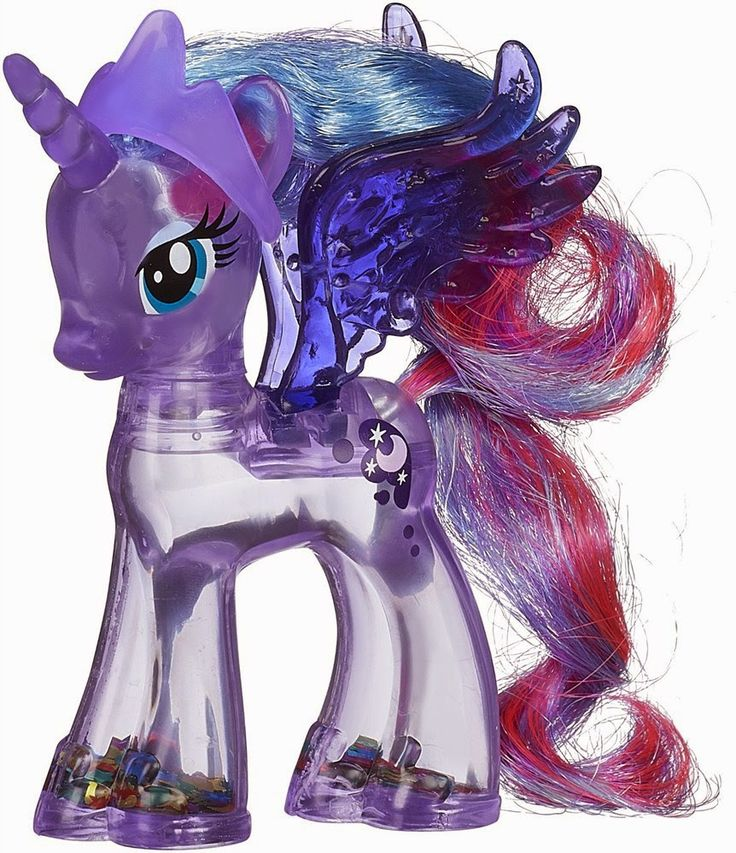 Rainbow Shimmer Princess Luna Brushable