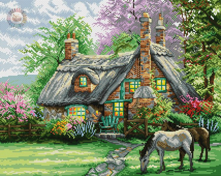 дом+конь