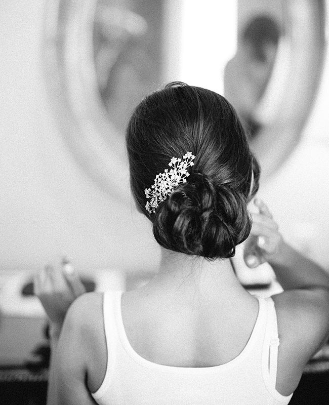 Beautiful, bridal updo | Mi Belle Photographers | Blog.theknot.com