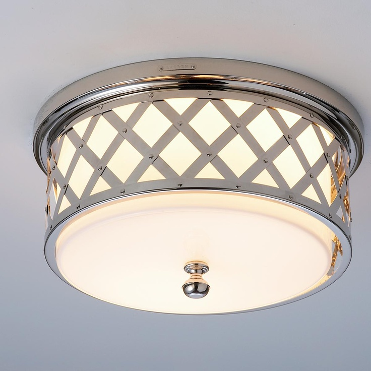 Ceiling Lamps For Hallways : Lauren by ralph lattice ceiling light finishes