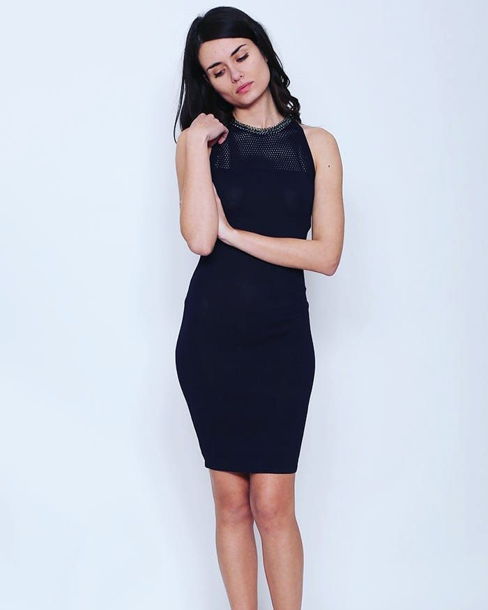 Blue Tight Dress Get Inspired by Our Spring Collection at  www.capriccioshop.gr  #dresses #dress #womanslook #springcollection #girls #motivation #moodoftheday #women #aboutmystyle #fashionstyle #fashionaddict #fashionista #styleblogger #fashionblogger #lowprice #quality #bestprice #tight #cute #feminine #shopping