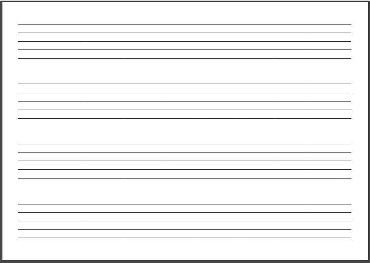 Notebook Paper, Resume