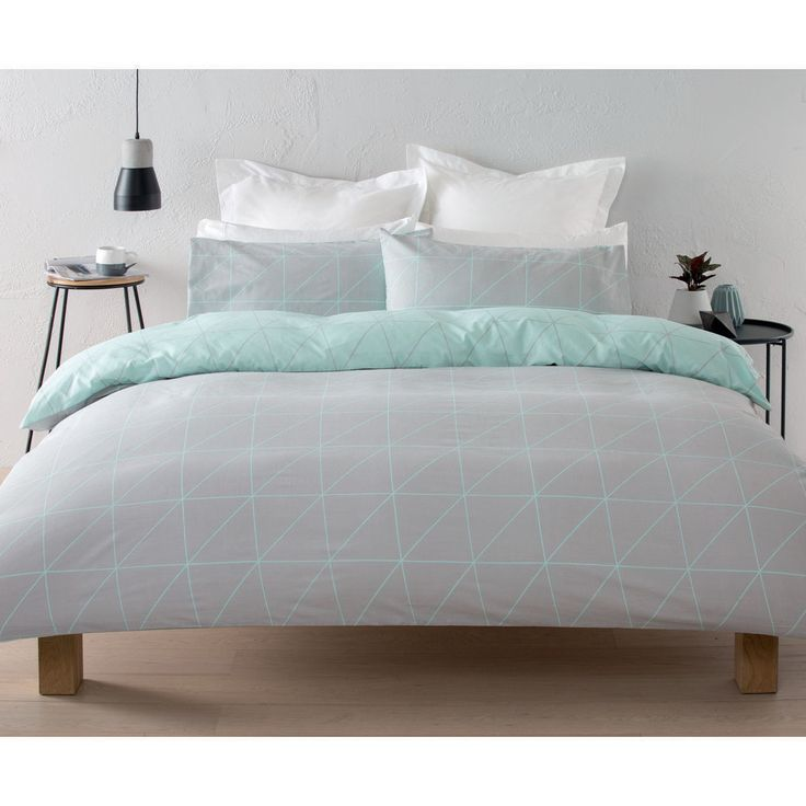 Lester Quilt Cover Set - Queen Bed | Kmart