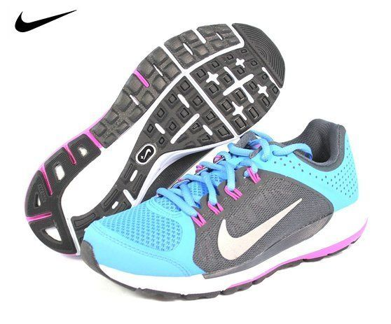 $80 - Nike Women's Zoom Elite+ 6 Distance Blue/Anthracite/Club Pink/Reflect