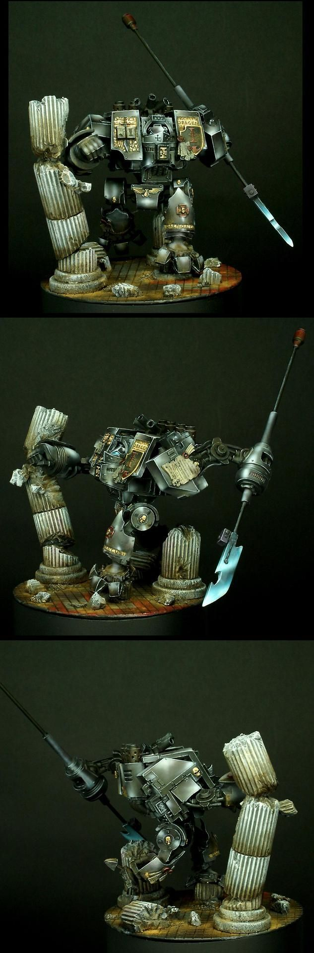 Grey Knights....amazing non-metallic metals!