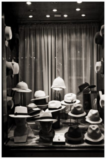 Mens hats, just window shopping for the near future...
