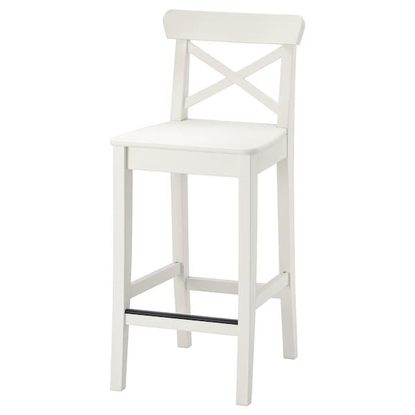 Satsumas Piedestal Bambou Blanc 78 Cm En 2020 Avec Images Chaise Bar Decor De Salle A Manger Table Et Chaises