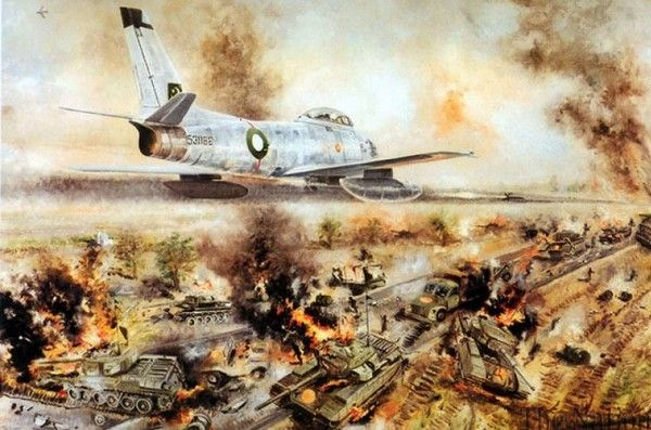 By Sajjad Shaukat Pakistan is celebrating golden jubilee of the 1965 war which India imposed on September 6, but the latter was defeated by Pakistan's Armed Forces. On September 7, Air Force Day (Y...