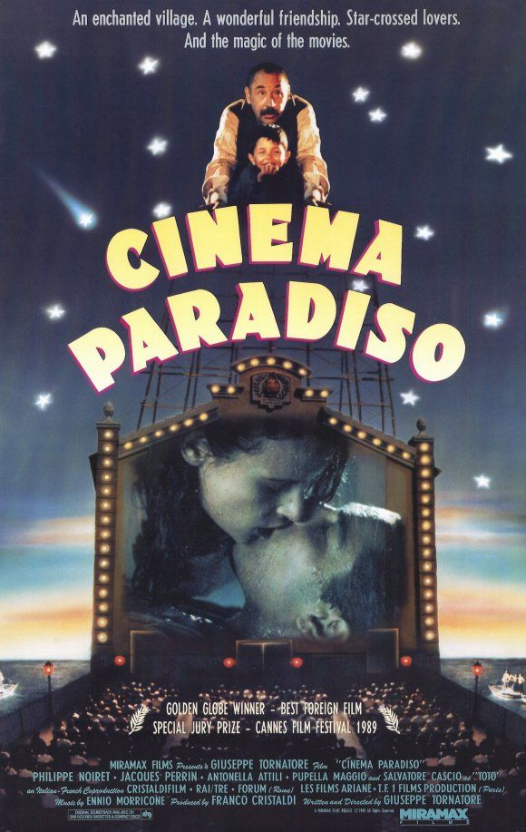 Cinema Paradiso - Giuseppe Tornatore, Italia (1988).