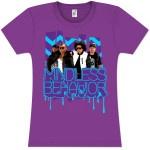 Mindless Behavior Zig Zag Drip Girlie T-Shirt $25.00