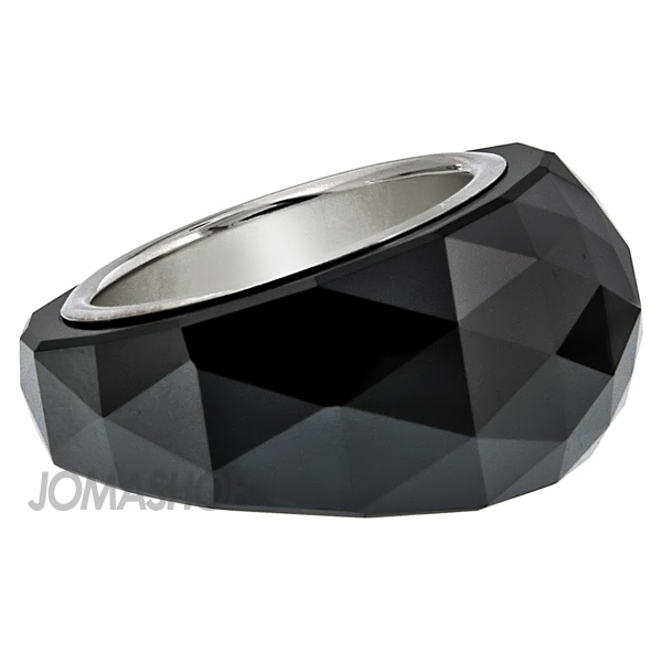 978846e8f Swarovski Nirvana Petite Jet Hematite Ring Size 7 1152568 | bday board ;) |  Swarovski, Swarovski ring, Rings