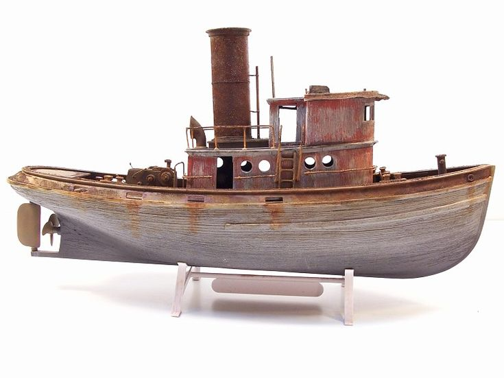 Steam Tugboat Plans / Drawings ? - FineScale Modeler ...