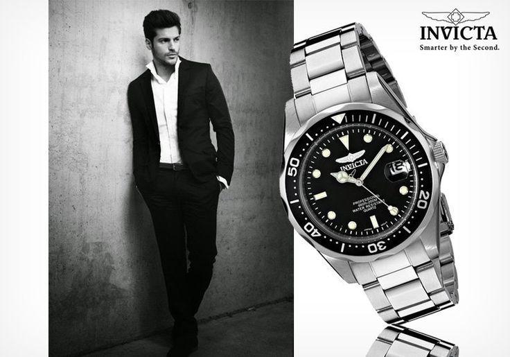 Ελβετική πρωτοπορία με το ανδρικό ρολόι Invicta! Μόνο με 99,00€