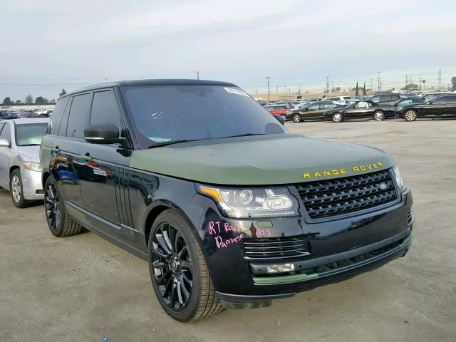 2014 Land Rover Range Rover Supercharged For Sale Ca Sun Valley Wed Jul 31 2019 Salvage Cars Copart Range Rover Supercharged Range Rover Land Rover