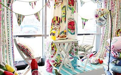 Vallila Spring Collection 2013 - Poppamies and Timi fabrics