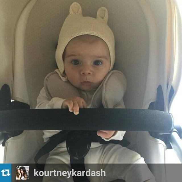 How cute is Kourtney's littlest man in his @mima_kids stroller?  #nessaleebaby #celebribab… http://bit.ly/1e7tCqy