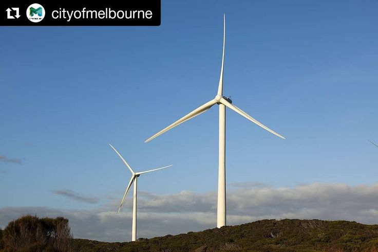 We've teamed up with Melbourne's most iconic to fund windpower #renewableenergy  #Repost @cityofmelbourne (@get_repost)  Weve got the wind beneath our wings!  Weve decided to source all of our electricity from a new wind farm in regional Victoria. Its all part of the Melbourne Renewable Energy Project - our commitment to jobs and investment in renewable energy and we're proud to be doing it in such good company. #renewableenergy  http://ift.tt/2hW0PwU