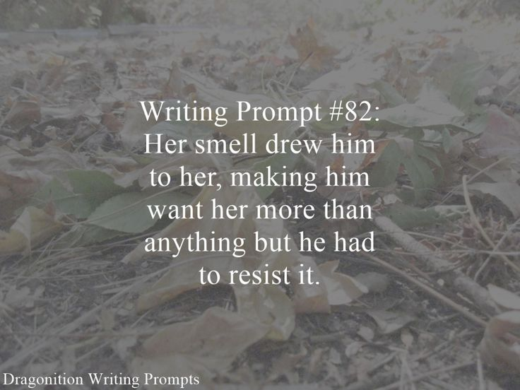 Writing Prompt #82