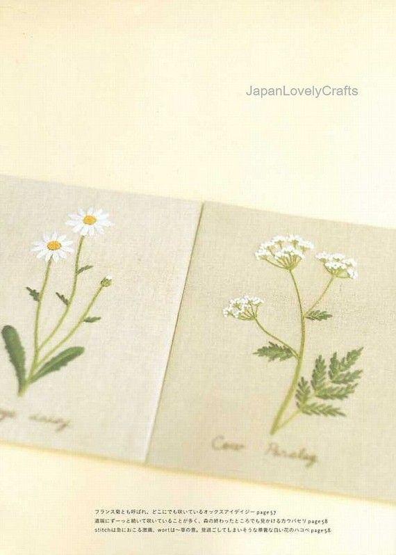 Embroidery in Travel by Kazuko Aoki Japanese por JapanLovelyCrafts