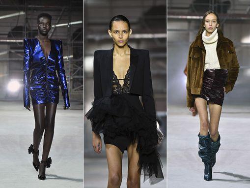 Semana de Moda de Paris começa com década de 80, alfaiataria e couro Semana de Moda de Paris começa com década de 80, alfaiataria e couro