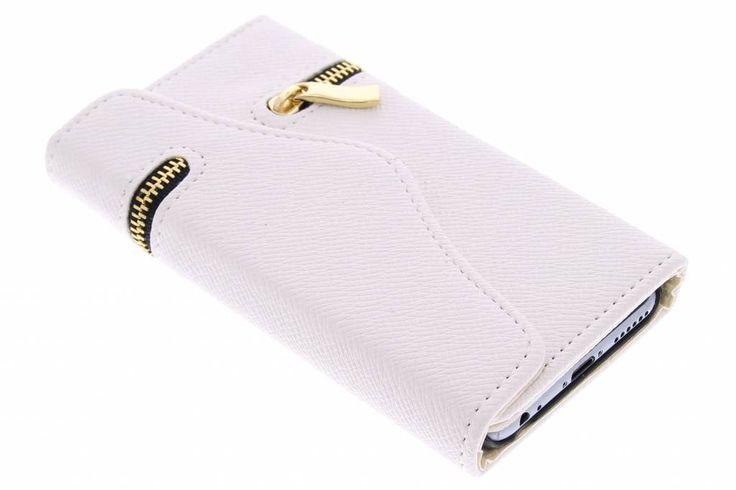 Witte classic portemonnee hoes voor de iPhone 6 / 6s