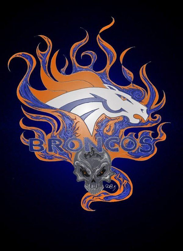 Denver Broncos Logo Welcome to Heaven - http://touchdownheaven.com/category/categories/denver-broncos-fan-shop/
