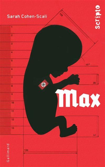 Bavière, 1936. Max, enfant d'un foyer du programme Lebensborn, est nourri de nazisme dans le ventre de sa mère pour devenir un prototype de la race aryenne. Il est élevé selon la doctrine nazie jusqu'à ce qu'il se lie d'amitié avec Lukas, jeune Juif polonais qui a tous les critères physiques de la race aryenne. Cote : RA COH