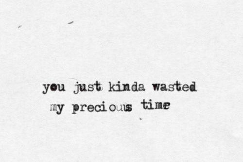 Typewritten lyrics. Don't think twice, it's all right by Bob Dylan.