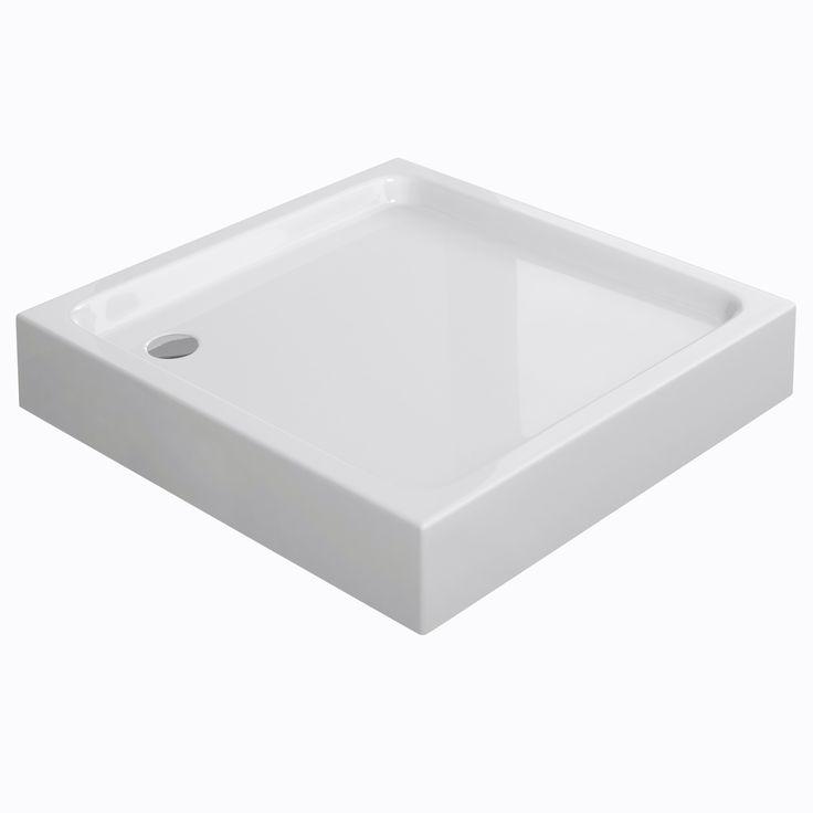 #Cersanit #Tako długość 90x90cm , to #brodzik dla każdej #łazienki, wykonany z tworzywa #ABS w zestawie #nóżki do regulacji. #Toalety