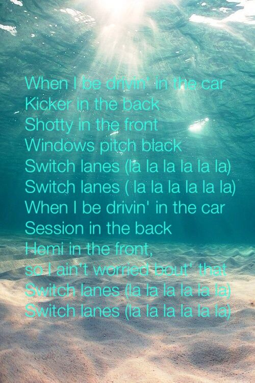 Rittz ft. Mike posner- switch lanes | Song lyrics.quotes ...