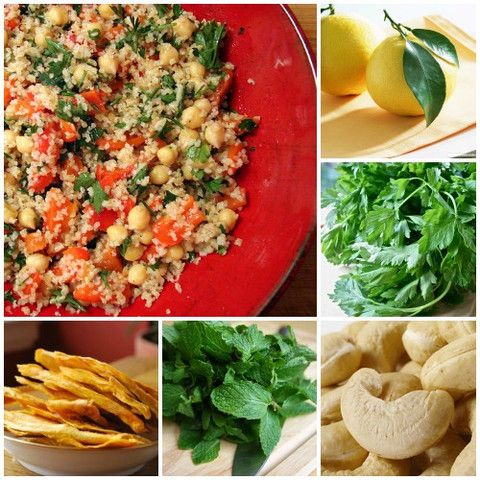 Spring Superfood and Quinoa Tabbouleh | Salads | Pinterest