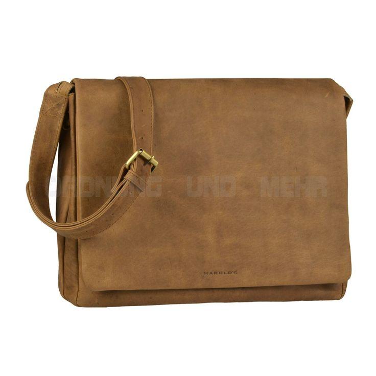 Harold's Umhängetasche Leder Messenger Tasche für Herren Männer braun ANTICO | eBay
