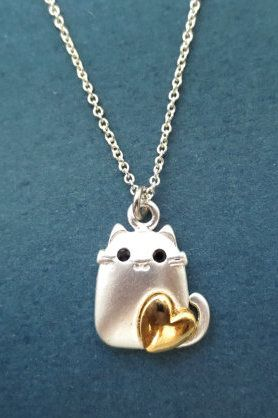 Lovely Loving Cat Necklace