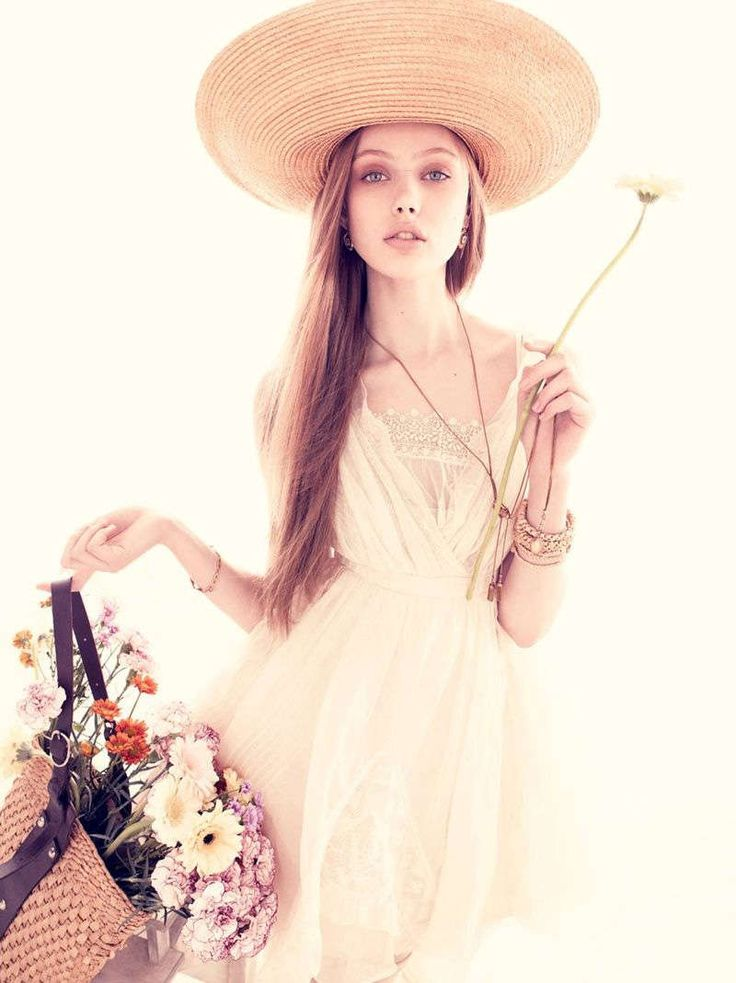 Floral Fairy Shoots : frida gustavsson for vogue nippon june 2010