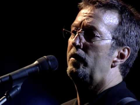 "Eric Clapton, Wonderful Tonight.  My husband and I spent many an evening slow dancing to this when we were first dating.  It was our ""song."""
