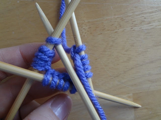Putting Stitches On Knitting Needles : 1000+ images about double pointed needles tutorials on Pinterest Purl bee, ...