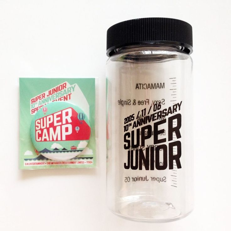 SM TOWN Super Junior 10th Anniversary Special Event Official Goods (Limited)