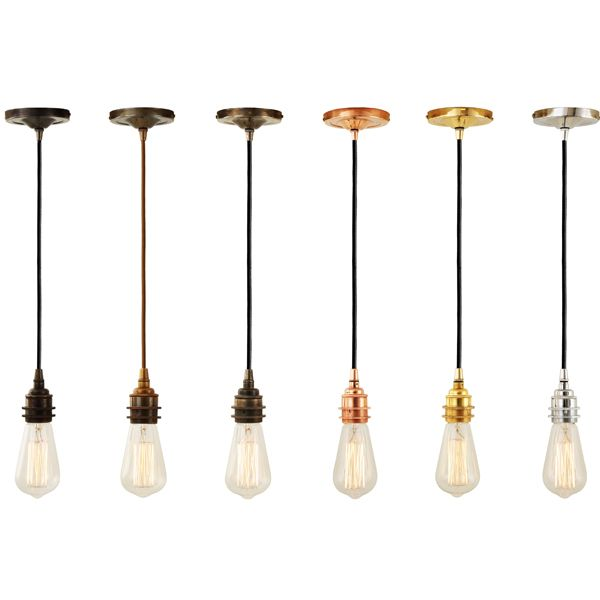 Pendant Suspensions - Style 1